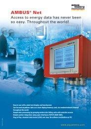 AMBUS® Net - Aquametro AG