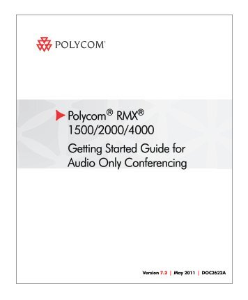 rmx getting started guide book polycom rh yumpu com polycom rss 4000 admin guide polycom rss 4000 admin guide