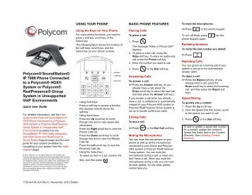 polycom soundstation ip 7000 setup guide nec corporation of rh yumpu com polycom soundpoint ip 6000 user guide polycom soundstation ip 6000 configuration guide