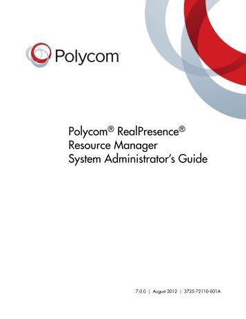 Realpresence mobile admin guide