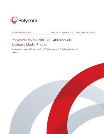 polycom phone instruction manual