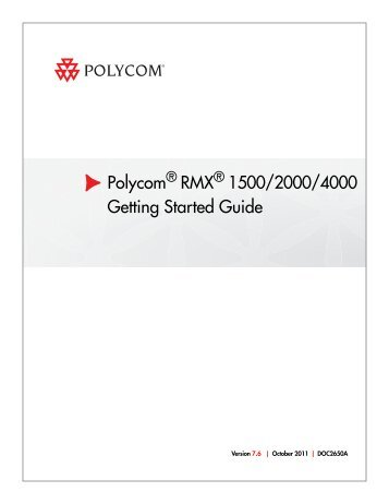 rmx getting started guide book polycom rh yumpu com polycom rmx user guide polycom rmx admin guide 8.5