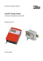 CALEC energy master - Aquametro AG