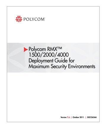 deployment guide for maximum security environments for polycom rh yumpu com Polycom CX5000 Review Polycom CX5000 Review