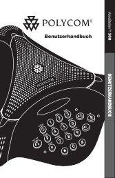 Benutzerhandbuch - Polycom
