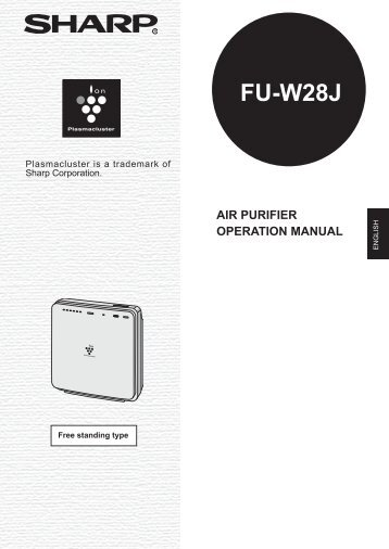 fu w53j air purifier operation manual sharp australia support rh yumpu com Sharp Compet QS-2760H KB Sharp 6525P5