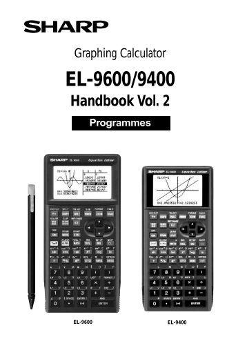 EL-9900 Graphing Calculator Calculating Parabolic Motion
