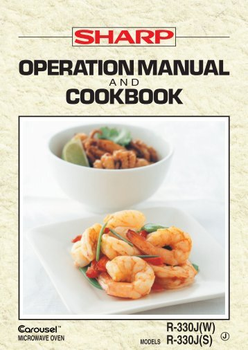 operation manual cookbook sharp australia support rh yumpu com User Manual Sharp Fax Machines Manual Sharp Atomic Clock SPC 891