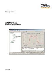 AMBUS Gate - Aquametro AG