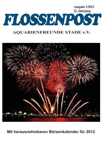 P R O G R A M M 2012 - Aquarienfreunde Stade e.V.