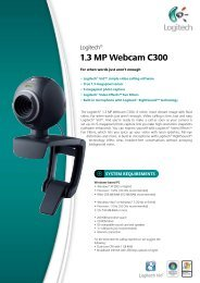 1.3 MP Webcam C300 - Distrelec