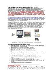 Matrox RT.X10 Suite - Edit Video Like a Pro!
