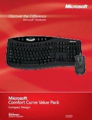 Comfort Curve Value Pack - Microsoft