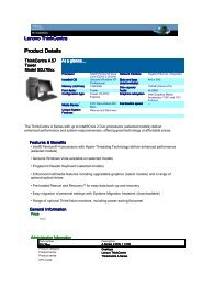 Lenovo ThinkCentre - A57-SDJ7Bxx
