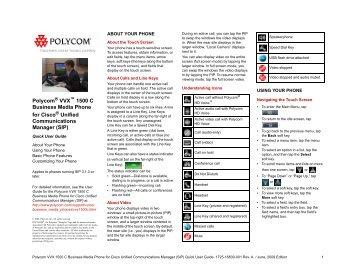 Polycom VVX 1500 Datasheet