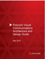 White Paper Template - Polycom Support