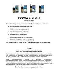 FLUVAL 1, 2, 3, 4