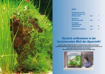 Einrichtung eines Tetra AquaArt® Garnelen