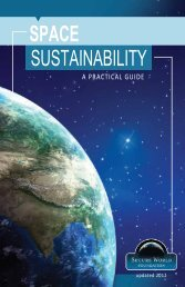 Space Sustainability - A Practical Guide - Secure World Foundation