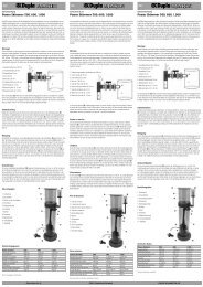 Instrucciones de uso / Powerskimmer - Dohse Aquaristik KG