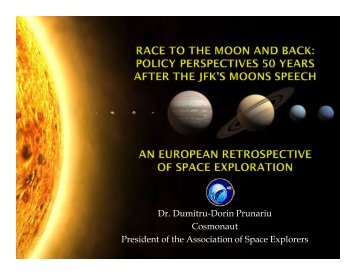 An European retrospective of space exploration - Secure World ...