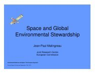 Space and Global Environmental Stewardship