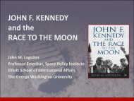 JOHN F. KENNEDY and the RACE TO THE MOON - Secure World ...