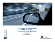 The European GNSS Programmes EGNOS and Galileo International ...