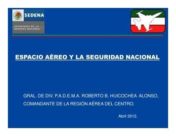 ESPACIO AÉREO Y LA SEGURIDAD NACIONAL