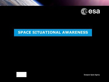 Overview of the ESA Space Situational Awareness ... - Global Error