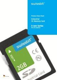 Swissbit 512MB Industrial SD Card SA-E-M0-131-STD NEW