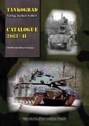 CATALOGUE - TANKOGRAD Publishing