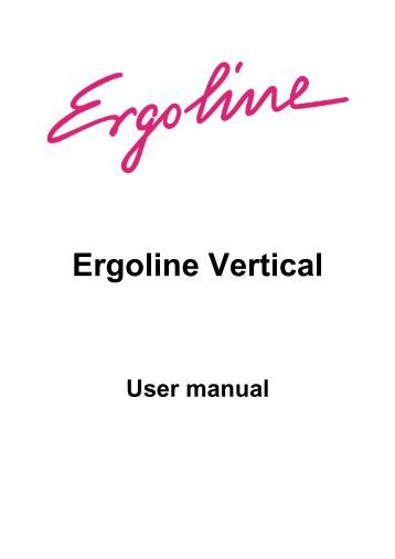 ergoline essence 48 operation