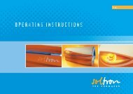 Operating Instructions - Tanning-bed-parts.com