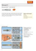 MEA rögzítéstechnika 2008 - Sokoldal.hu - Page 4