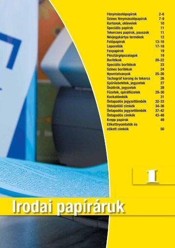 IRODAI Papíráruk - Sokoldal.hu