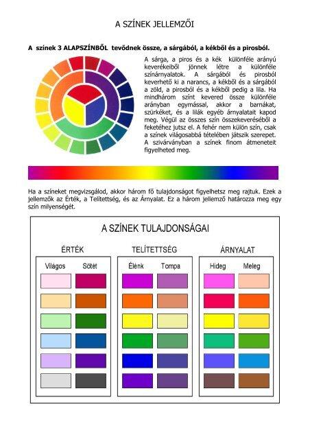 Világos színek