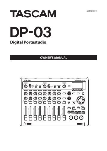 Tascam Cd rw5000 service manual