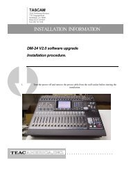 DM-24 Installation and Use EPROM Replacement ... - Tascam