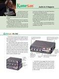 Kamesan Product Brochure - 366.33 KB ... - Tascam - Page 2