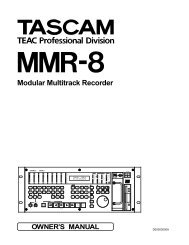 Modular Multitrack Recorder - Tascam