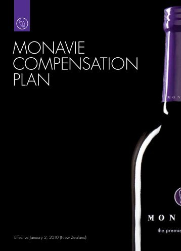 MONAVIE COMPENSATION PLAN - Share and Enjoy