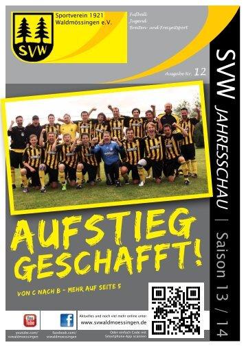 SVW Jahresschau 2013/2014