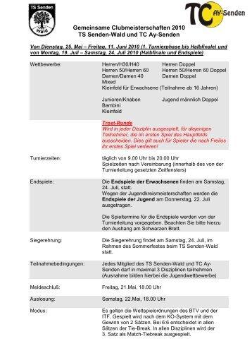 Download Ausschreibung - TC Ay-Senden