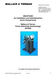 ANLEITUNG für Installation und Inbetriebnahme durch - Firma