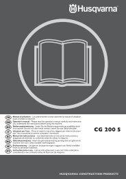 OM, CG200 S, 2010-01, FR, EN, DE, IT, ES, NL, SE, PT