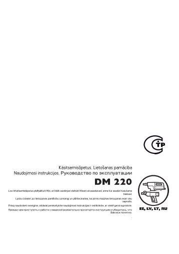 OM, DM 220, 2011-10, EE, LV, LT, RU