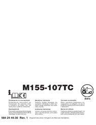 OM, McCulloch, M155-107TC, 96051006401, 2013, Tractor, RU, EE ...