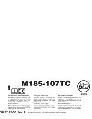 OM, McCulloch, 185-107TC, 96051006601, 2013, Tractor, RU, EE ...