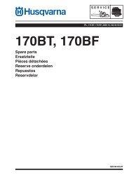 IPL, 170 BT, 170 BF, 2008-10, Blower